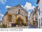 Saint Valerien Church, Tournus, France (2019 год). Стоковое фото, фотограф Boris Breytman / Фотобанк Лори