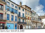 Street in Tournus, France (2019 год). Стоковое фото, фотограф Boris Breytman / Фотобанк Лори