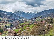 Landscape in Haute-Savoie, France (2019 год). Стоковое фото, фотограф Boris Breytman / Фотобанк Лори