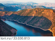 Купить «Hiker in Flaming Gorge recreation area», фото № 33030813, снято 4 апреля 2020 г. (c) easy Fotostock / Фотобанк Лори