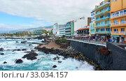Купить «Waterfront in Puerto de la Cruz», фото № 33034157, снято 13 декабря 2019 г. (c) Роман Сигаев / Фотобанк Лори