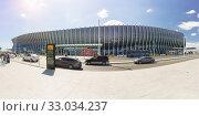 Купить «Панорамный вид на здание международного аэропорта «Симферополь» — единственного действующего пассажирского аэропорта на территории Крымского полуострова», фото № 33034237, снято 13 сентября 2019 г. (c) Наталья Гармашева / Фотобанк Лори