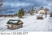 Ферапонтово Ferapontov Belozersky monastery. Стоковое фото, фотограф Baturina Yuliya / Фотобанк Лори