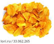 Купить «Potato chips», фото № 33062265, снято 26 мая 2020 г. (c) age Fotostock / Фотобанк Лори