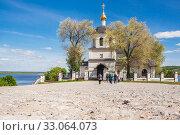 Купить «Church of Helena and Constantine in summer in Sviyazhsk», фото № 33064073, снято 25 мая 2019 г. (c) Дмитрий Тищенко / Фотобанк Лори