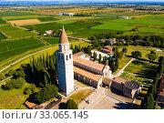 Купить «Basilica di Santa Maria Assunta in Aquileia, world Heritage», фото № 33065145, снято 4 сентября 2019 г. (c) Яков Филимонов / Фотобанк Лори