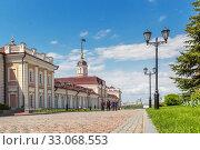 Купить «Cannon Museum in the Kazan Kremlin», фото № 33068553, снято 23 мая 2019 г. (c) Дмитрий Тищенко / Фотобанк Лори