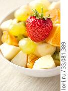 Купить «fruit salad», фото № 33081389, снято 6 июня 2020 г. (c) PantherMedia / Фотобанк Лори