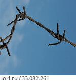 Купить «Barbed wire», фото № 33082261, снято 1 апреля 2020 г. (c) PantherMedia / Фотобанк Лори