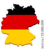 Купить «germany map 3d», фото № 33086009, снято 26 мая 2020 г. (c) PantherMedia / Фотобанк Лори