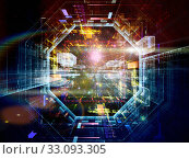 Купить «Paradigm of Virtual Space», фото № 33093305, снято 6 июля 2020 г. (c) PantherMedia / Фотобанк Лори