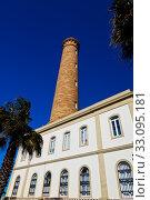 Купить «Lighthouse of Chipiona, Cadiz», фото № 33095181, снято 28 мая 2020 г. (c) PantherMedia / Фотобанк Лори