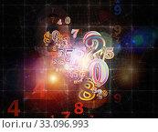 Купить «Number Evolution», фото № 33096993, снято 2 апреля 2020 г. (c) PantherMedia / Фотобанк Лори