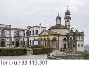 sanctuary church of san giorgio and villa duodo in monselice. Стоковое фото, фотограф Christa Eder / PantherMedia / Фотобанк Лори