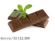 Купить «Closeup detail of chocolate parts», фото № 33122389, снято 12 июля 2020 г. (c) PantherMedia / Фотобанк Лори