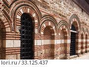 Купить «Facade of church St. Paraskeva in Nessebar», фото № 33125437, снято 26 июня 2019 г. (c) Юлия Бабкина / Фотобанк Лори