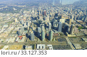 Aerial view of Downtown San Diego. Стоковое фото, фотограф Sofia Lambrianidou / PantherMedia / Фотобанк Лори