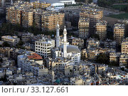 Asien,  Naher Osten,  Syrien,  Damaskus,    Sicht ueber die Grossstadt von Damaskus der Hauptstadt von Syrien. Стоковое фото, фотограф ursa lexander flueler / PantherMedia / Фотобанк Лори