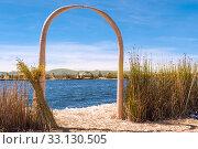 Купить «Uros - Floating Islands, Titicaca, Peru», фото № 33130505, снято 8 апреля 2020 г. (c) PantherMedia / Фотобанк Лори