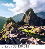 Machu Picchu, Andes, Sacred Valley, Peru. Стоковое фото, фотограф Xeniya Ragozina / PantherMedia / Фотобанк Лори
