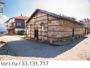 Купить «Church of St. Theodore in Nessebar, Bulgaria», фото № 33131717, снято 26 июня 2019 г. (c) Юлия Бабкина / Фотобанк Лори