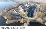 Купить «Panoramic view of historical Nesvizh Castle», фото № 33131849, снято 3 января 2020 г. (c) Яков Филимонов / Фотобанк Лори