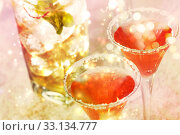 Купить «Red cocktail with salt», фото № 33134777, снято 17 февраля 2020 г. (c) PantherMedia / Фотобанк Лори
