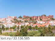 Купить «panorama of silves in portugal», фото № 33136585, снято 21 февраля 2020 г. (c) PantherMedia / Фотобанк Лори