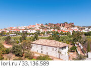 Купить «panorama of silves in portugal», фото № 33136589, снято 21 февраля 2020 г. (c) PantherMedia / Фотобанк Лори