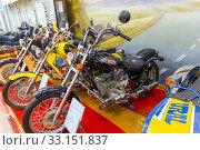Купить «Музей мотоциклов в городе Ирбит», фото № 33151837, снято 12 декабря 2019 г. (c) Евгений Ткачёв / Фотобанк Лори