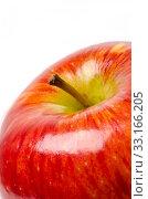 Big red apple. Стоковое фото, фотограф Andreas Berheide / PantherMedia / Фотобанк Лори