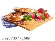 bavarian breakfast. Стоковое фото, фотограф Marco Hegner / PantherMedia / Фотобанк Лори