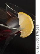 Купить «Cocktail closeup», фото № 33176681, снято 31 марта 2020 г. (c) PantherMedia / Фотобанк Лори