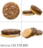 Купить «sandwich biscuit», фото № 33179805, снято 23 февраля 2020 г. (c) PantherMedia / Фотобанк Лори