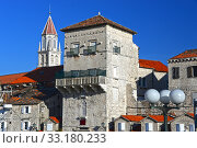 Old town of Trogir in Dalmatia, Croatia on Adriatic coast. Стоковое фото, фотограф Z Jan / PantherMedia / Фотобанк Лори