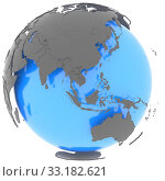 Eastern Hemisphere on the planet. Стоковое фото, фотограф Tomas Griger / PantherMedia / Фотобанк Лори