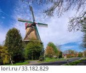 spetzerfehn windmill - windmill spetzerfehn 01. Стоковое фото, фотограф Liane Matrisch / PantherMedia / Фотобанк Лори
