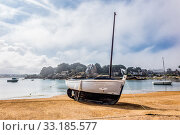 Port in Brittany. Стоковое фото, фотограф Rico Ködder / PantherMedia / Фотобанк Лори
