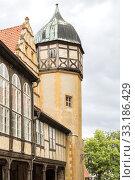 altes fachwerkhaus in quedlinburg,harz,saxony-anhalt. Стоковое фото, фотограф Harald Biebel / PantherMedia / Фотобанк Лори