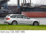 Купить «BMW 5 Tourer», фото № 33187185, снято 16 июля 2020 г. (c) PantherMedia / Фотобанк Лори
