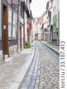 Купить «truss in quedlinburg,harz», фото № 33187413, снято 25 февраля 2020 г. (c) PantherMedia / Фотобанк Лори