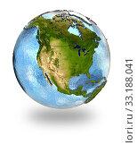 North America on Earth. Стоковое фото, фотограф Tomas Griger / PantherMedia / Фотобанк Лори