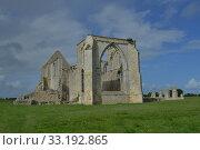 Купить «les chateliers abbaye ruinee», фото № 33192865, снято 9 июля 2020 г. (c) PantherMedia / Фотобанк Лори