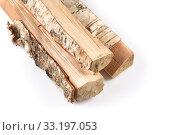 Купить «Stack of cut logs firewood», фото № 33197053, снято 6 июля 2020 г. (c) PantherMedia / Фотобанк Лори
