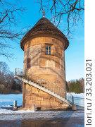 Купить «Пиль-башня. Павловск», эксклюзивное фото № 33203021, снято 8 марта 2019 г. (c) Александр Щепин / Фотобанк Лори