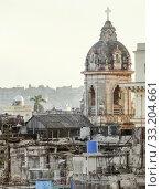 Купить «aerial view of Havana», фото № 33204661, снято 31 мая 2020 г. (c) PantherMedia / Фотобанк Лори