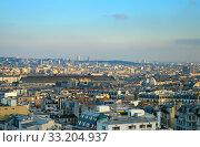 Купить «Paris overview, France», фото № 33204937, снято 2 июля 2020 г. (c) PantherMedia / Фотобанк Лори