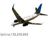Купить «Aircraft isolated», фото № 33210653, снято 8 апреля 2020 г. (c) Яков Филимонов / Фотобанк Лори
