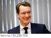 Hendrik Wuest, NRW Minister of Transport, North Rhine-Westphalia, Germany (2020 год). Редакционное фото, агентство Caro Photoagency / Фотобанк Лори