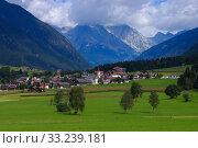 Antholz Valley - Antholzer valley. Стоковое фото, фотограф Liane Matrisch / PantherMedia / Фотобанк Лори